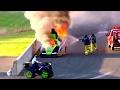 Biggest Nitro Funny Car Fire In History!