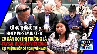 Căng thẳng tại Westminster: Dân gốc Việt gọi thị trưởng gốc Việt là tay sai, bưng bô Việt Cộng