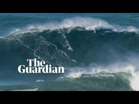 British surfer Tom Butler conquers potential world record 100ft tall wave