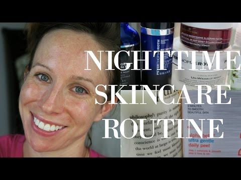 How I Transformed My Skin   Goodbye Acne   Nighttime Skincare Routine