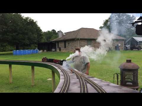 extra smoky k27 locomotive