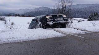 golf 3 tdi syncro snow driving