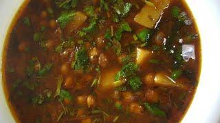 Aloo choley ka salanaloo choley recipe by village food with jana