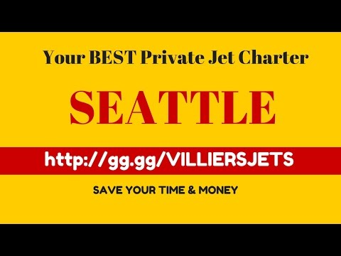 Private Jet Charter SEATTLE