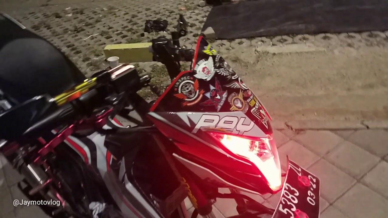 Review Honda Sonic 150 full modifikasi