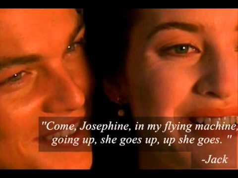 Titanic-''I'm flying'' scene (quotes) - YouTube