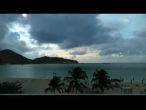 Great Bay Philipsburg Sint Maarten (Timelapse)