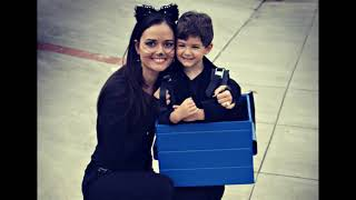 actress Danica McKellar and her husband and Her son