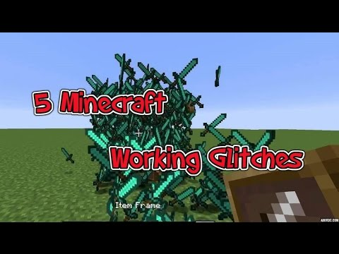 6 Minecraft glitches (WORKING)PS4/PS3 XboxOne/360