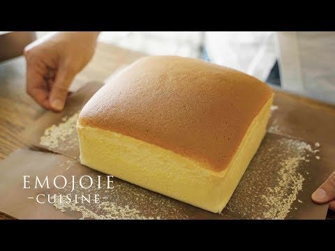 Taiwanese Castella Cake Recipe |台湾カステラの作り方| Emojoie Cuisine