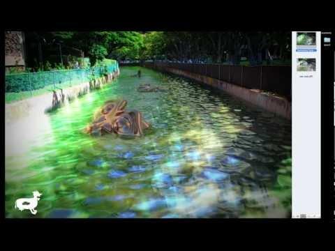 Weekly: (Blender) Swimming Suzanne Walkthough
