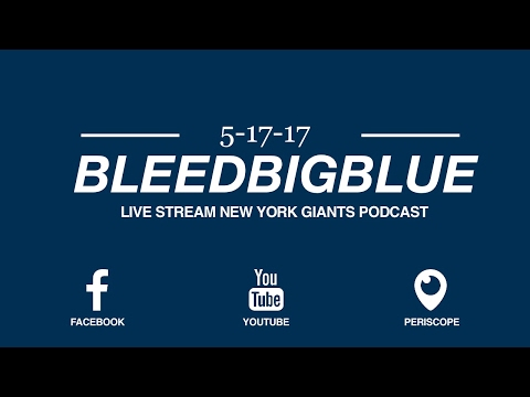 Live stream NYG Podcast 5/17 - Taking Calls, Comments, & Questions. Call in # (516)-453-9383