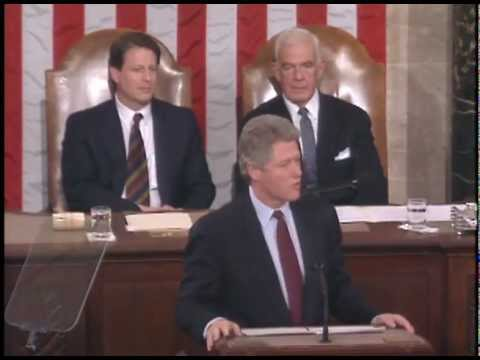 The 1993 State of the Union (Address to a Joint Session of the Congress)