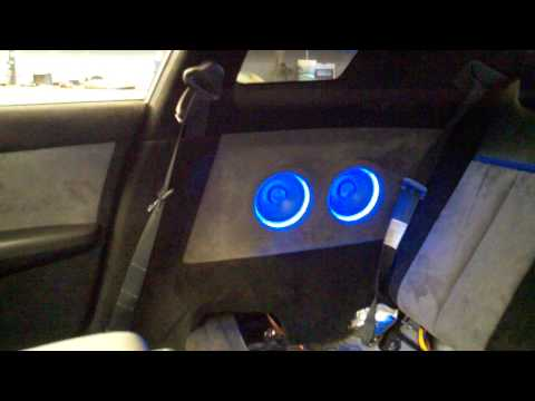 Repeat Nissan Altima custom audio system by Mr12VoltStereo