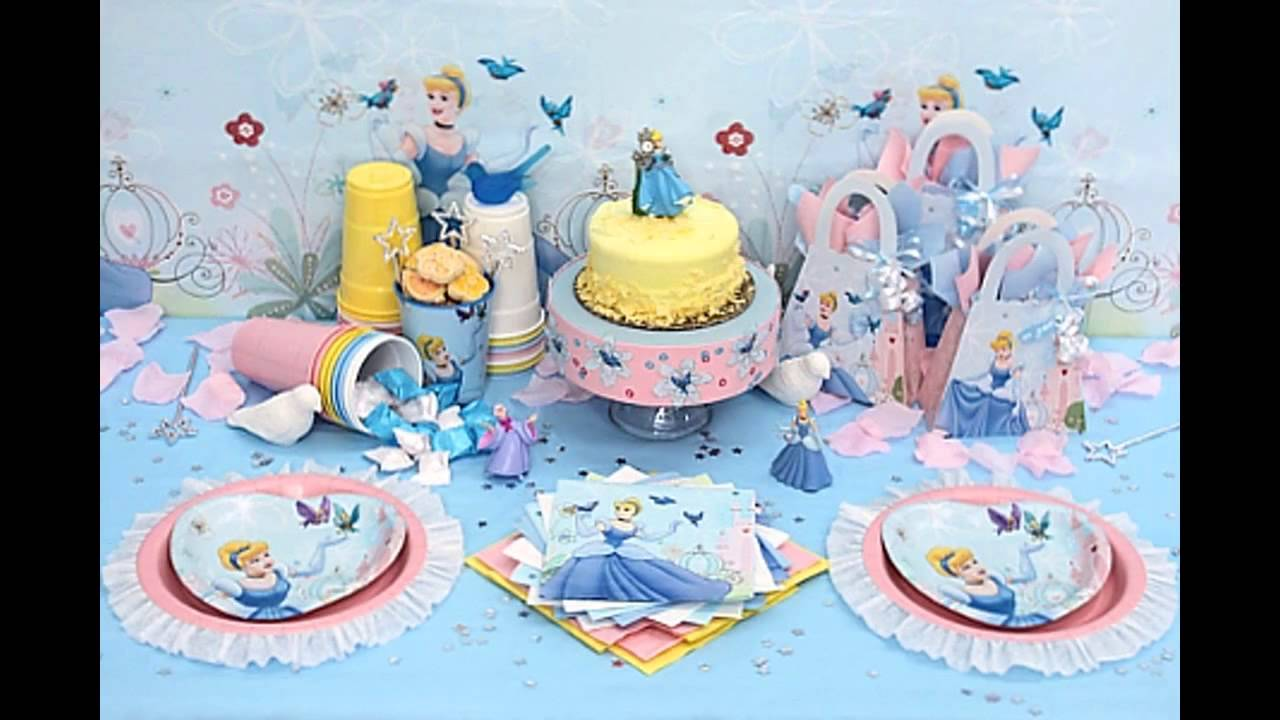 Wonderful Disney Princess Birthday Party Decorations Ideas