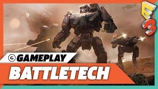 BattleTech Mech Warfare Gameplay Presentation - E3 2017