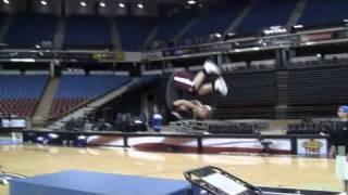 Front Flip Shot w/ Tyreke Evans | Dude Perfect