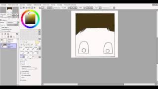 Видео урок как,рисовать в Paint Tool Sai