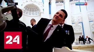 Зачем побрили гостя Кремля? // \