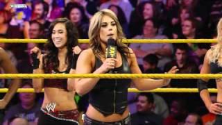 WWE NXT: NXT Rookie Divas Open Mic