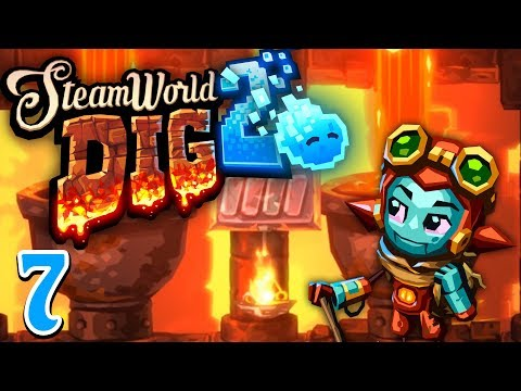 Let's Play Steamworld Dig 2 | Ep 7 - Ronald's Treasure Horde (Steamworld Dig 2 Gameplay)