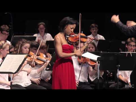 BARBER Violin Concerto: III. Presto in moto perpetuo - Kelly Hall-Thompkins, violin