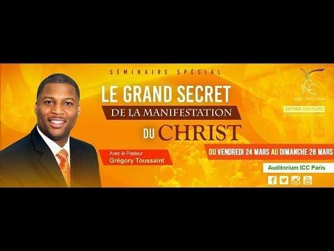 ESPRIT DE L'ETERNEL -Jour 2.- Pst Gregory Toussaint