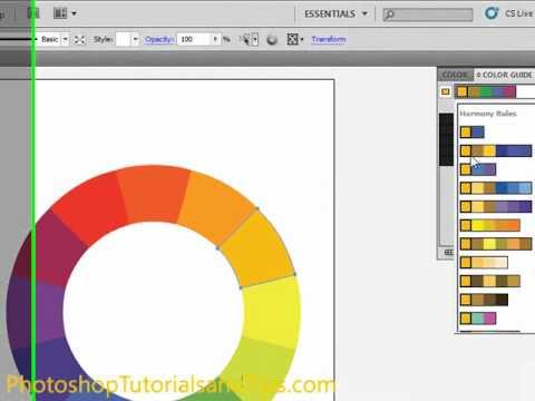 Color Harmony In Adobe Illustrator