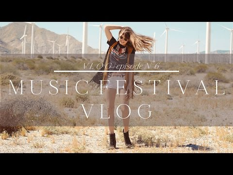 Travel Vlog | Music Festival Guide