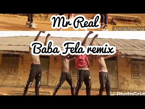 Mr Real – Baba Fela Remix (Official Dance video) Ft Zlatan x Laycon #3 ON TRENDING