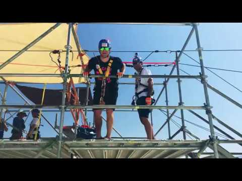 Photos - Hooker and DB Go Over The Edge For Charity (Video)