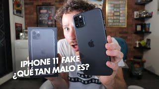 Compré un iPhone 11 Pro FALSO | ¿Qué tan malo es?