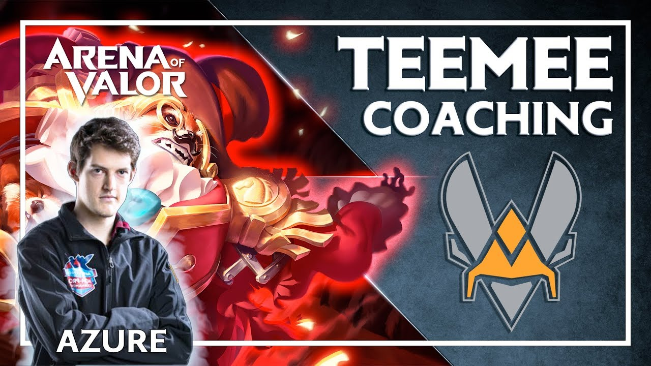 🐝 COACHING VITALITY - TEEMEE sur Arena of Valor