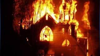 Kirkkopalovaroitus - Total Human Holocaust