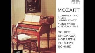 "Mozart. Clarinet trio ""Kegelstatt"". KV 498. Played on Mozart's own instruments."