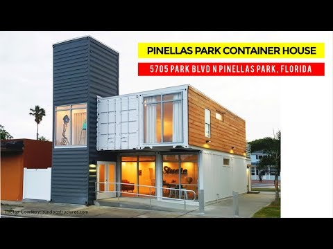 Pinellas Park Container Home Office Studio | 5705 Park Blvd N, Florida
