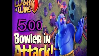 500 bowlers attack clash of clans best attack 2017 | Private server | Clash Of Magic