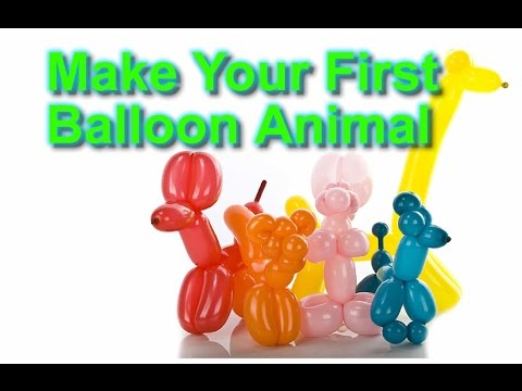Easy ways to make balloon animals