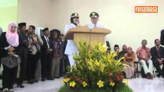 Pidato Politik Perdana Bupati Bima Indah Dhamayanti Putri (Umi Dinda) 2016