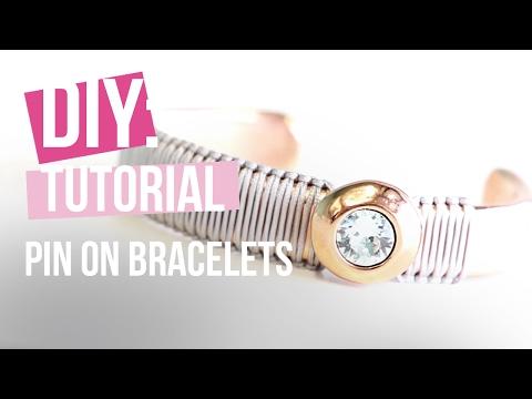 DIY: Pin on Bracelets mit Macramé