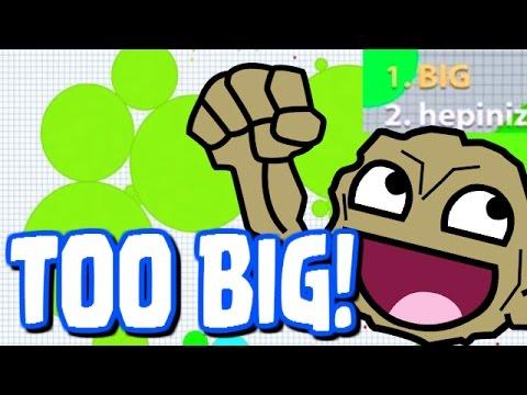 """WAY TO BIG!!"" - Agar.io Official App (IOS / Android) - Agar.io Walkthrough Part 18"