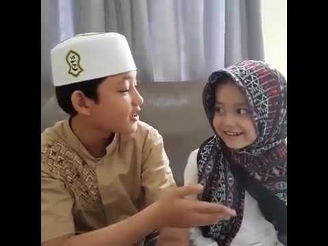 Alwi Assegaf Sholawat Subhanallah Walhamdulillah (Habib Syech) With Aminah Assegaf #SiblingGoals