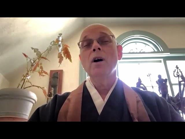 The Book of Rinzai Chapter Two –Dharma Talk by Hokuto Sensei, 5.2.2021