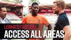 Access all areas | Jefferson Lerma's first day at AFC Bournemouth
