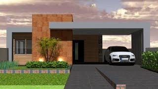 Modern Single Floor House 3d Floor Plan || Low Cost House 3d Floor Plan