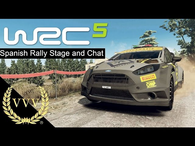 WRC 5 Spanish Rally and Options Chat