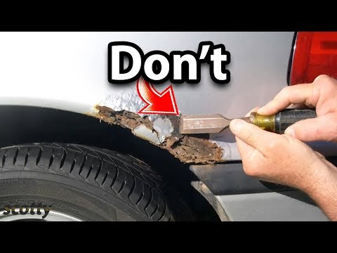 If You Want to Repair Rust on Your Car, Don't Do This