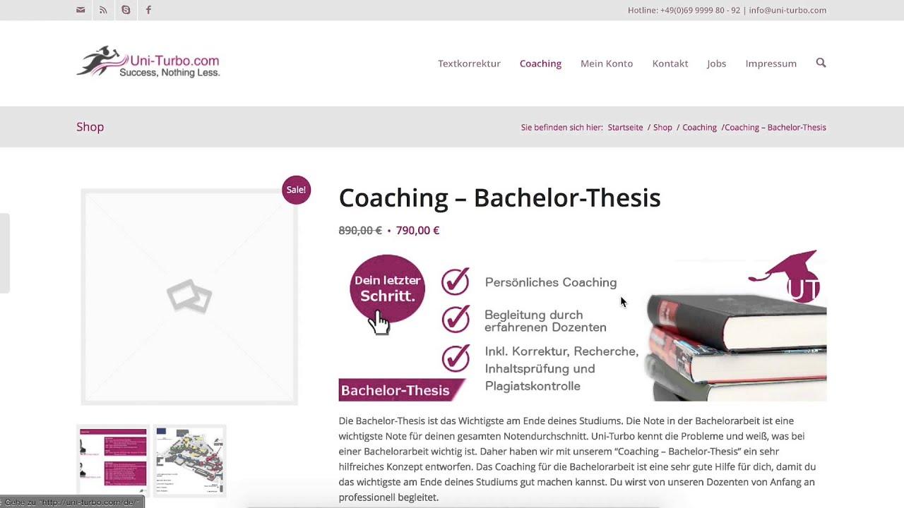 Bachelor thesis buy