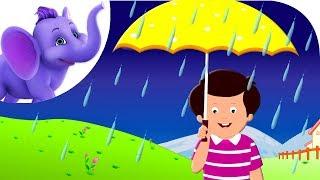 Rain on the Green Grass - Nursery Rhyme with Karaoke