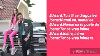 Ioana Ignat x Edward Sanda- In palma ta VersuriLyrics